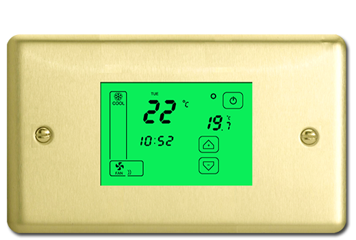 ThermoPad – Brushed Brass
